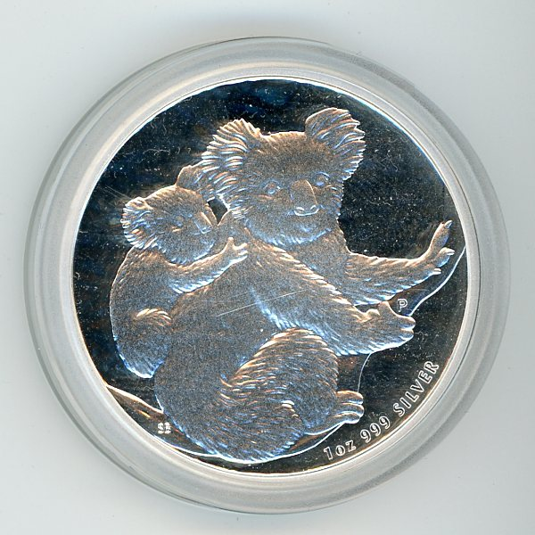 Thumbnail for 2008 1oz Koala .999 Silver