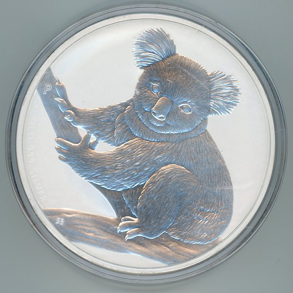 Thumbnail for 2009 One Kilo Koala .999 Silver