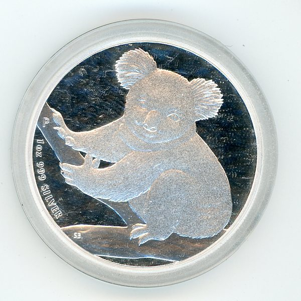 Thumbnail for 2009 1oz Koala .999 Silver