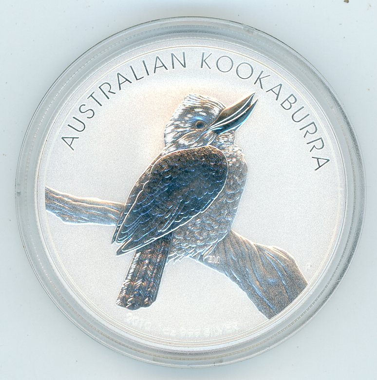 Thumbnail for 2010 1oz Kookaburra in Capsule
