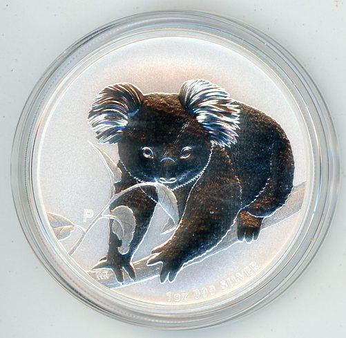 Thumbnail for 2010 1oz Silver Koala