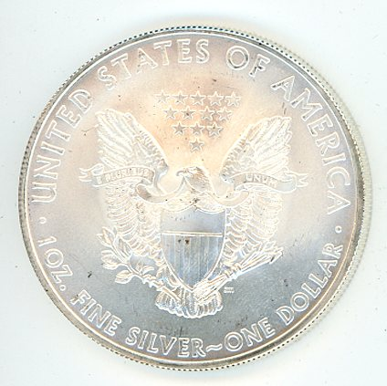 Thumbnail for 2010 USA Silver Eagle