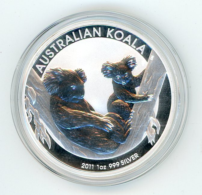 Thumbnail for 2011 1oz Silver Koala