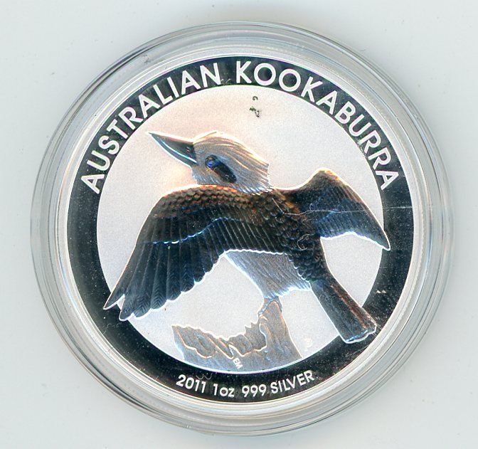 Thumbnail for 2011 1oz Silver Kookaburra