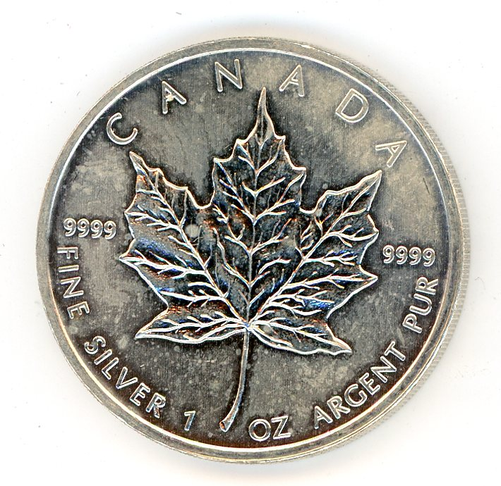 Thumbnail for 2011 Canadian 1oz Maple Leaf .999 Silver
