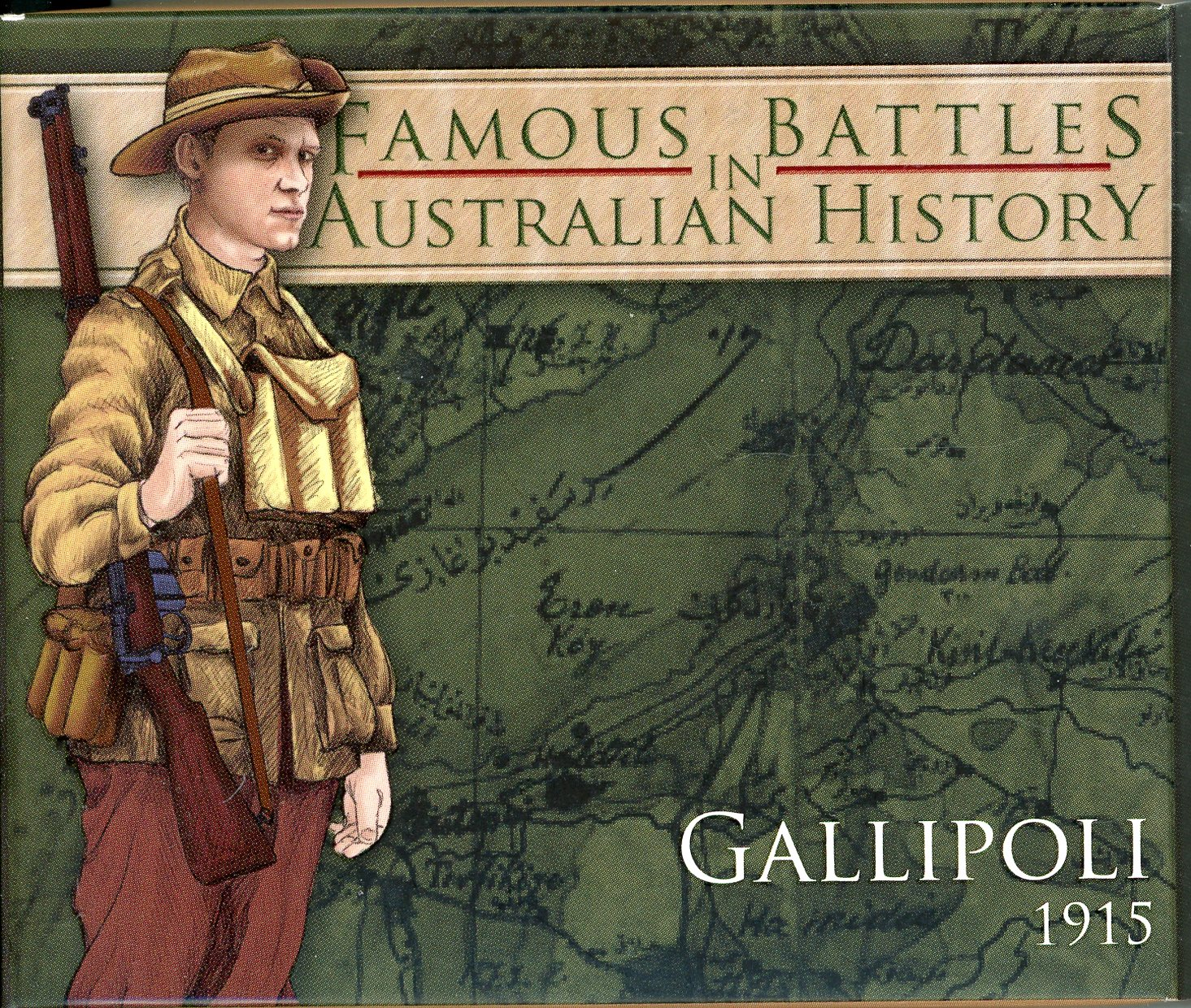 Thumbnail for 2011 1oz Coloured silver Proof Famous Battles in History - Gallipoli