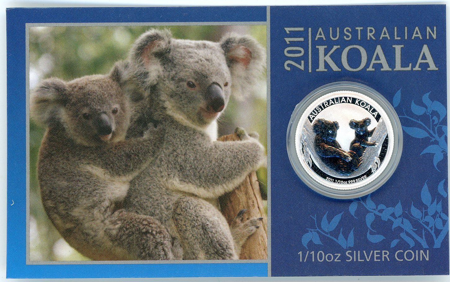 Thumbnail for 2011 One Tenth oz Silver Koala