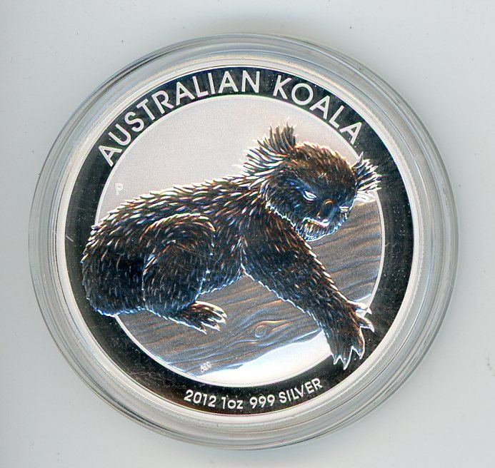 Thumbnail for 2012 1oz Silver Koala