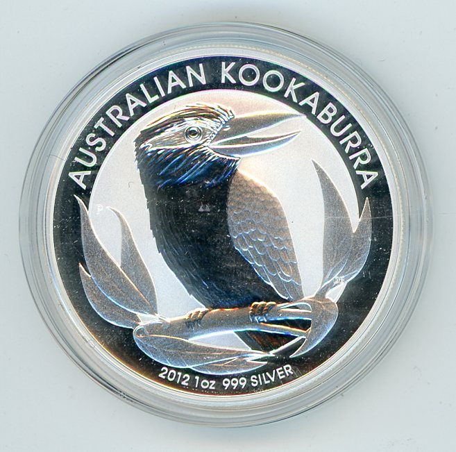 Thumbnail for 2012 1oz Silver Kookaburra