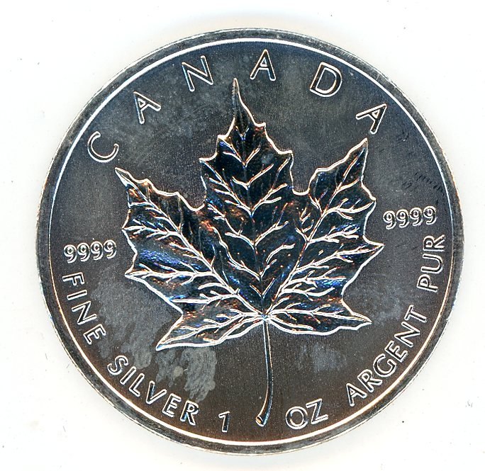 Thumbnail for 2012 Canadian 1oz Maple Leaf .999 Silver