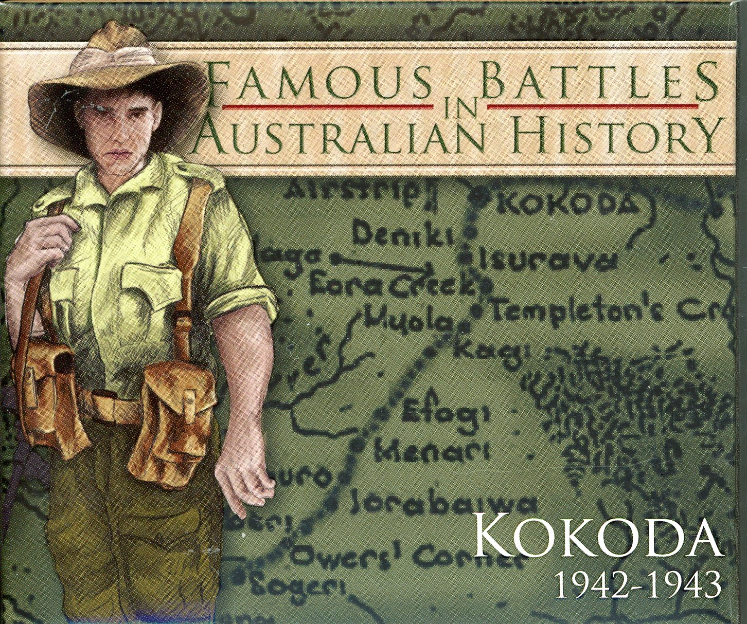 Thumbnail for 2012 1oz Coloured Silver Proof Famous Battles in History - Kokoda
