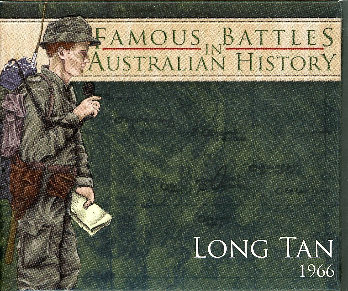 Thumbnail for 2012 1oz Coloured Silver Proof Famous Battles in History - Long Tan