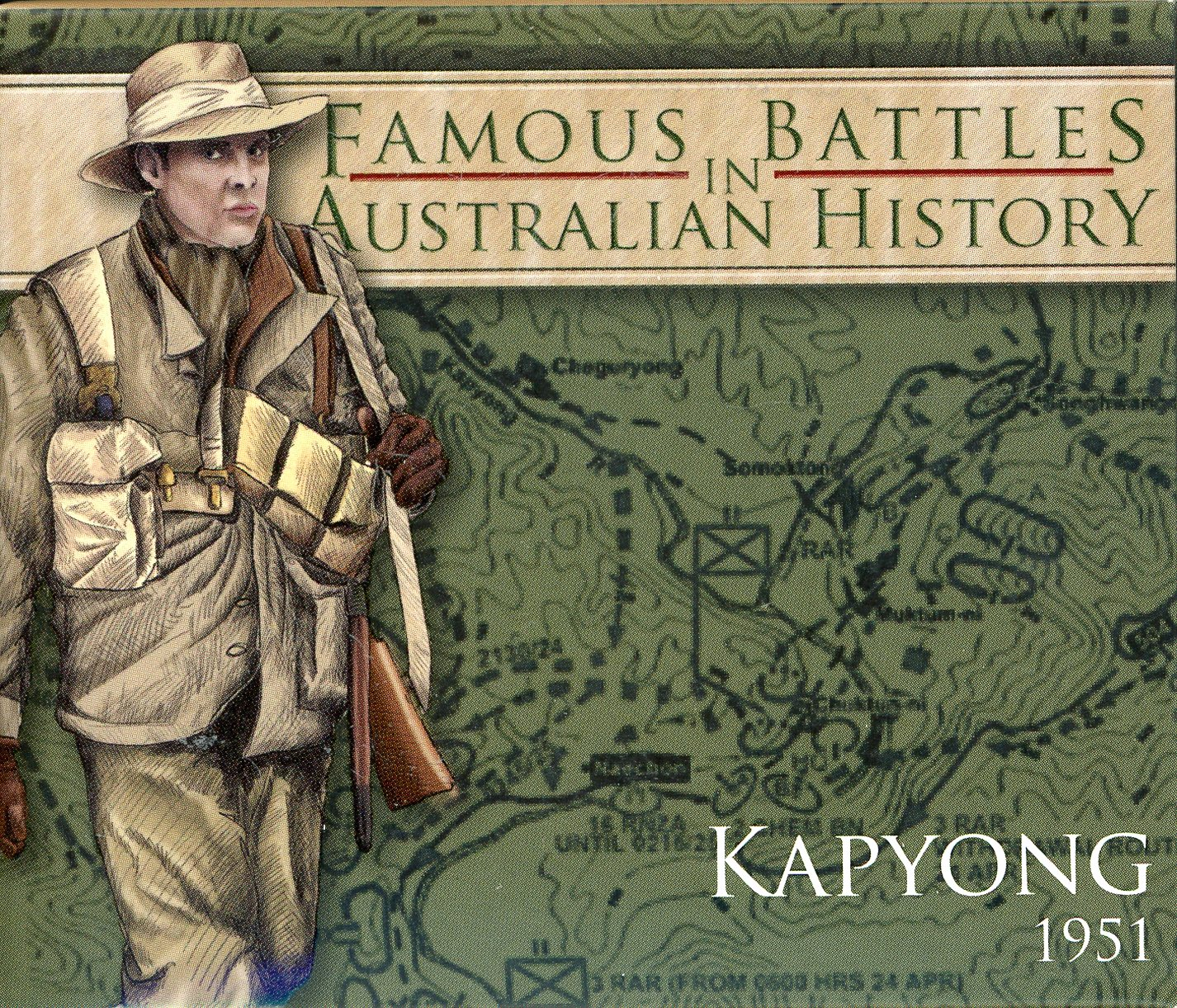 Thumbnail for 2012 1oz Coloured Silver Proof Famous Battles in History - Kapyong