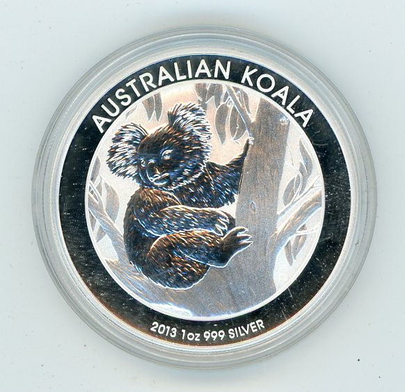 Thumbnail for 2013 One oz Silver Koala