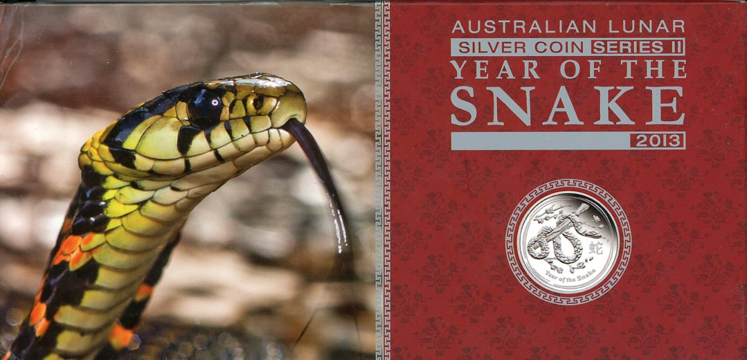 Thumbnail for 2013 Three Coin Proof Set 2oz, 1oz Half oz - Year of the Snake
