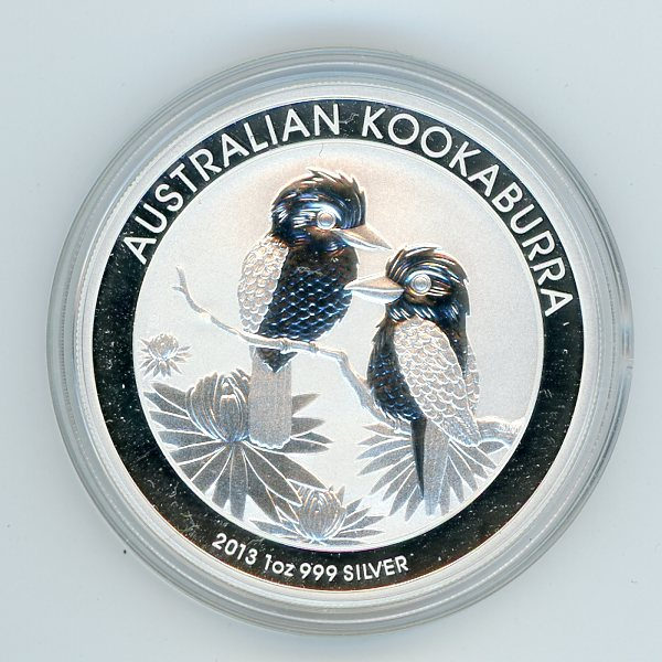 Thumbnail for 2013 1oz Kookaburra .999 Silver