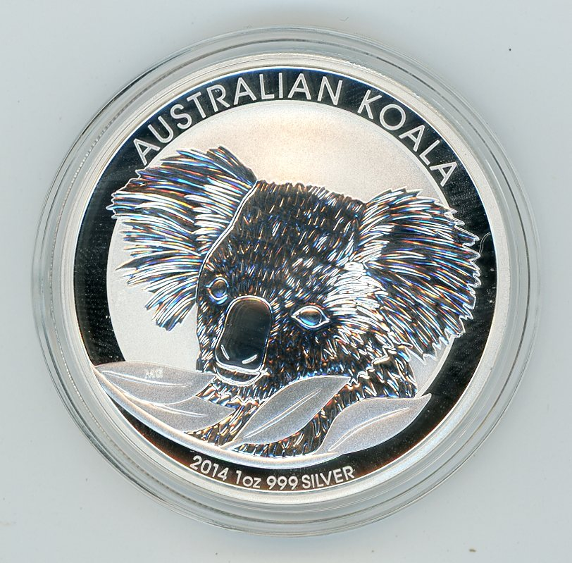 Thumbnail for 2014 1oz Silver Australian Koala