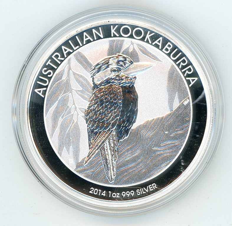 Thumbnail for 2014 One oz Silver Kookaburra