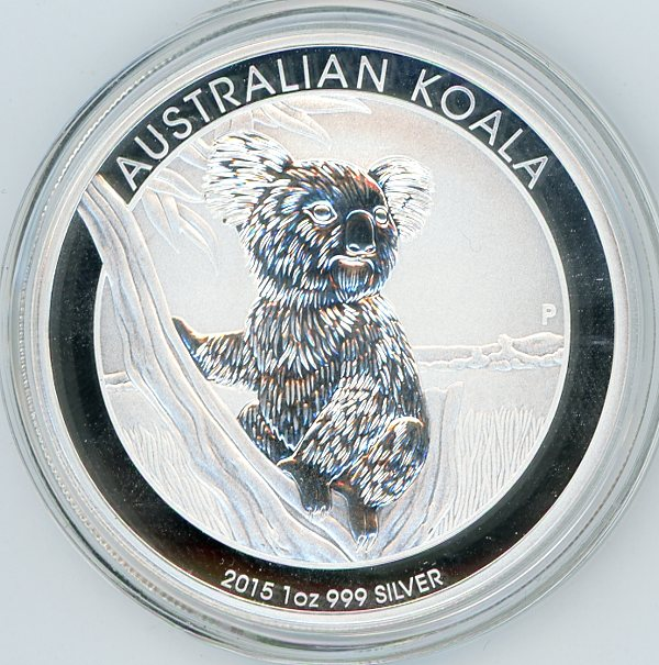 Thumbnail for 2015 One oz Silver Koala
