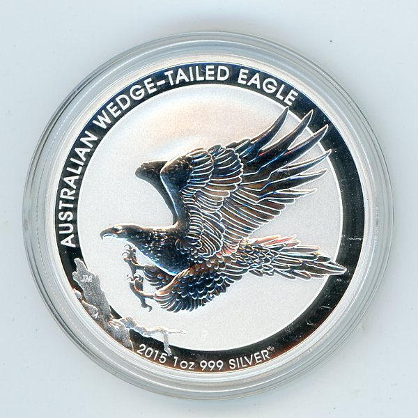 Thumbnail for 2015 One oz Silver Wedge Tailed Eagle