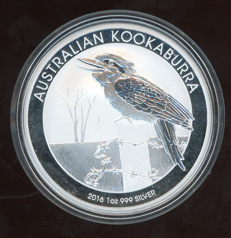 Thumbnail for 2016 One oz Kookaburra .999 Silver
