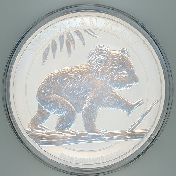 Thumbnail for 2016 One Kilo Koala .999 Silver
