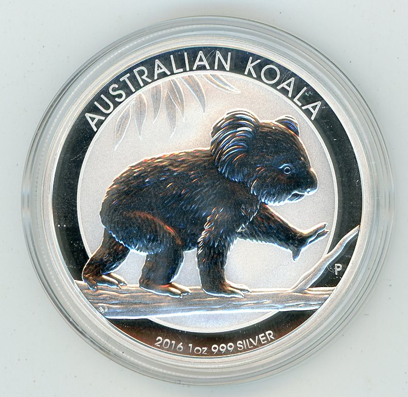 Thumbnail for 2016 One oz Silver Koala