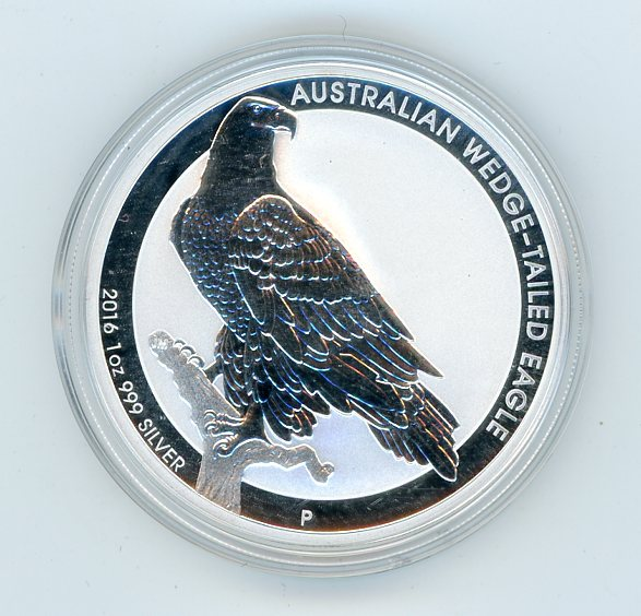 Thumbnail for 2016 One oz Silver Coin - Wedge Tailed Eagle