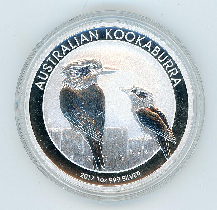 Thumbnail for 2017 1oz Kookaburra .999 Silver