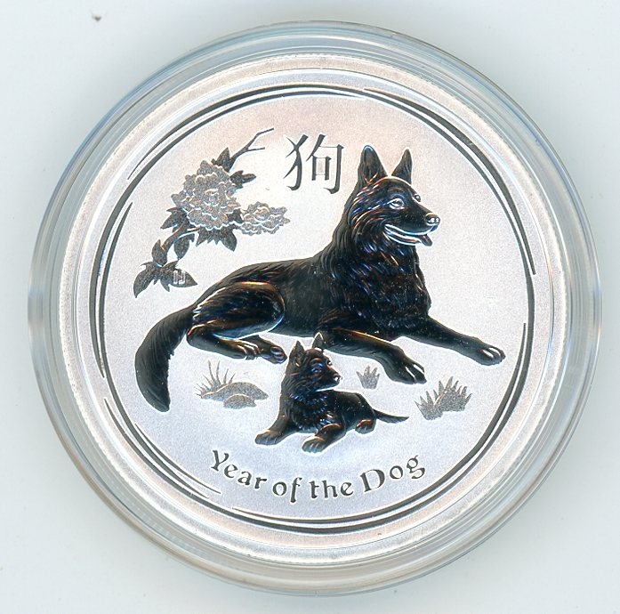 Thumbnail for 2018 Half oz Silver Year of the Dog