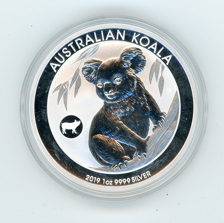 Thumbnail for 2019 1oz Koala with Lunar Pig Privy Mark