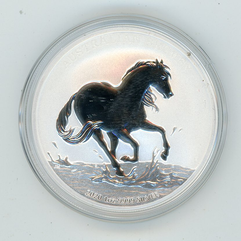 Thumbnail for 2020 1oz Silver Australian Brumby