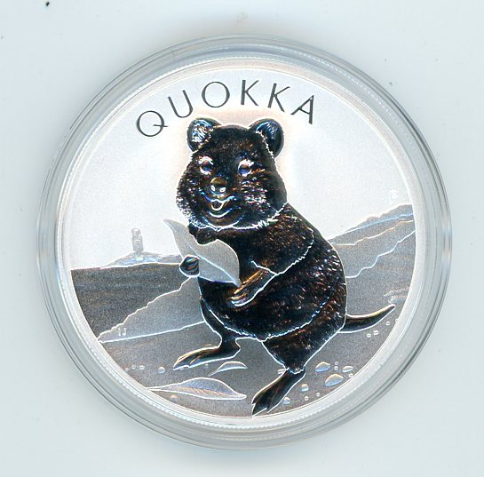 Thumbnail for 2020 1oz Silver Bullion Coin - Quokka