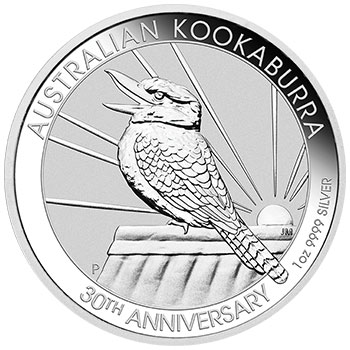 Thumbnail for 2020 1oz Silver Kookaburra 30th Anniversary Issue