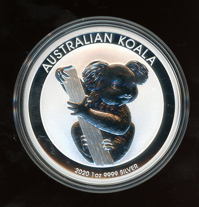 Thumbnail for 2020 One oz Silver Koala