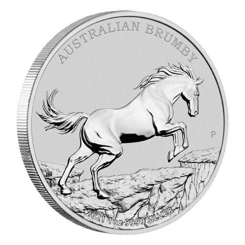 Thumbnail for 2021 Australian Brumby 1oz Silver Bullion Coin