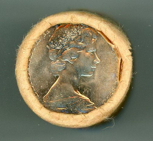 Thumbnail for 1973 Ten Cent Royal Australian Mint Coin Roll               H-H