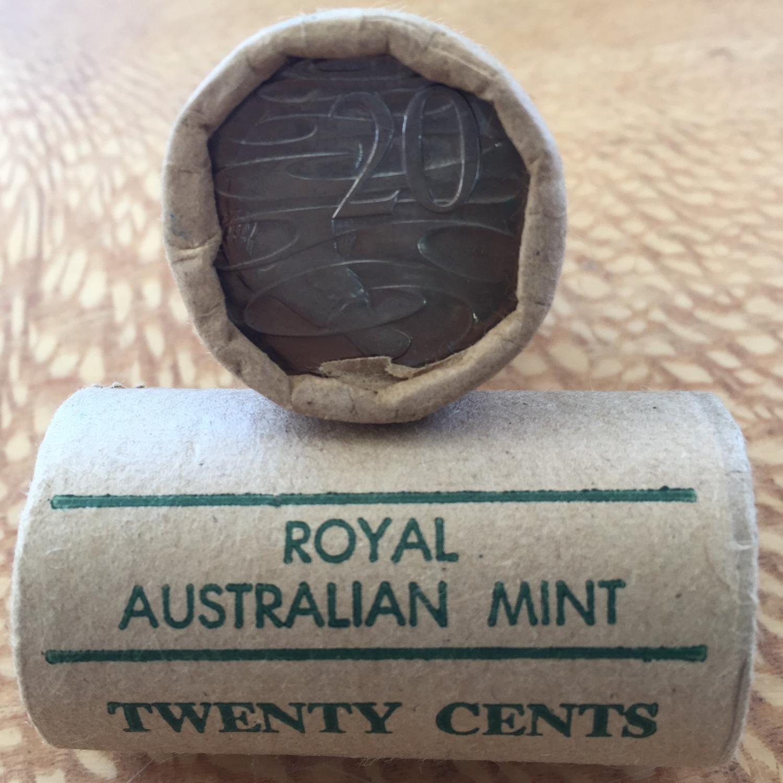 Thumbnail for 1978 Royal Australian Mint Twenty Cent Roll
