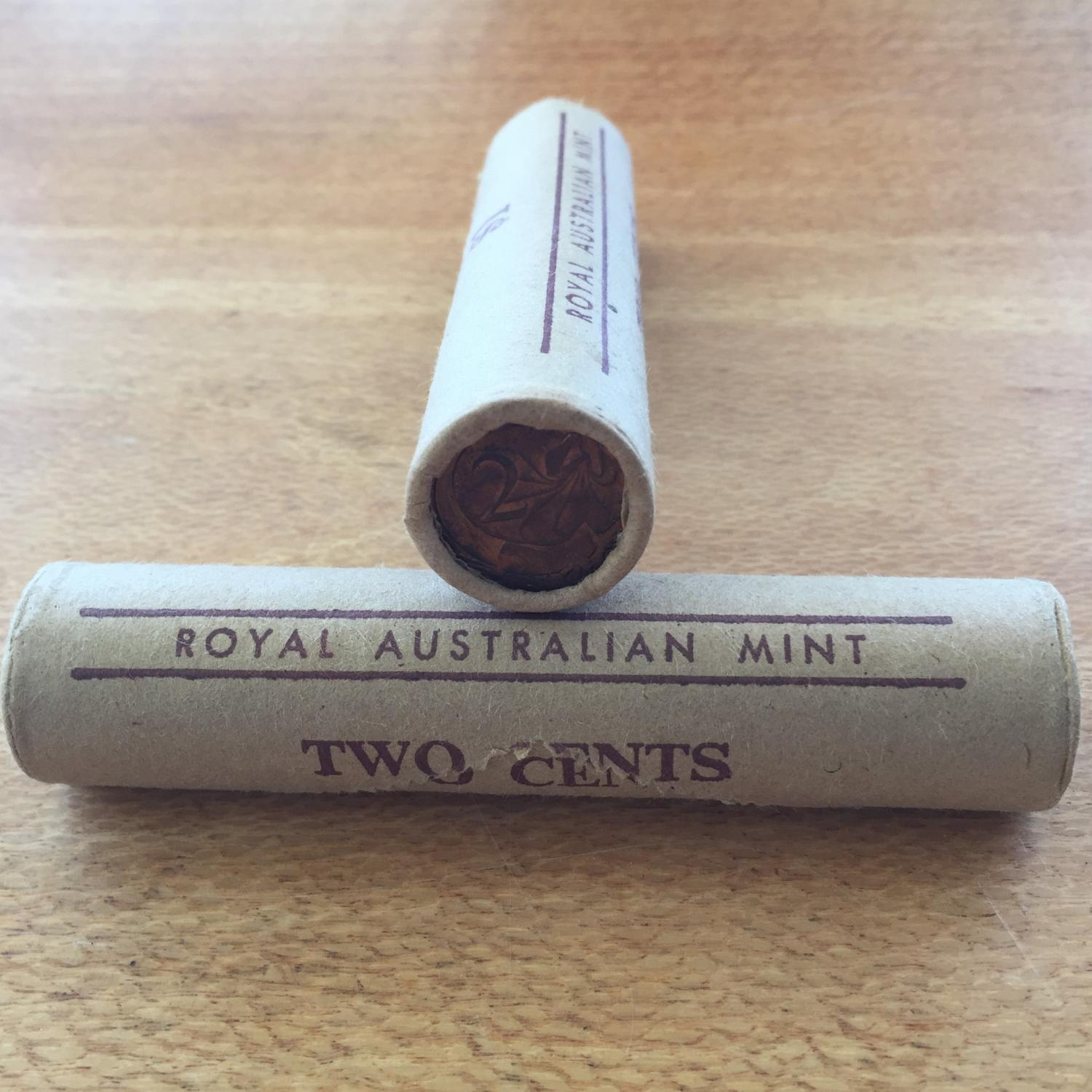 Thumbnail for 1978 Royal Australian Mint Two Cent Roll