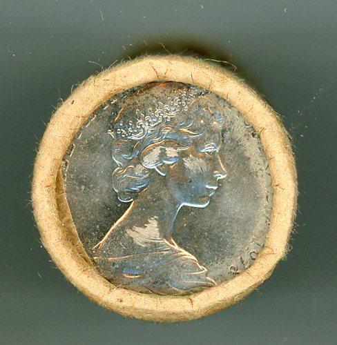 Thumbnail for 1978 Ten Cent Royal Australian Mint Coin Roll            H-H