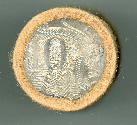 Thumbnail for 1981 Ten Cent Royal Australian Mint Coin Roll