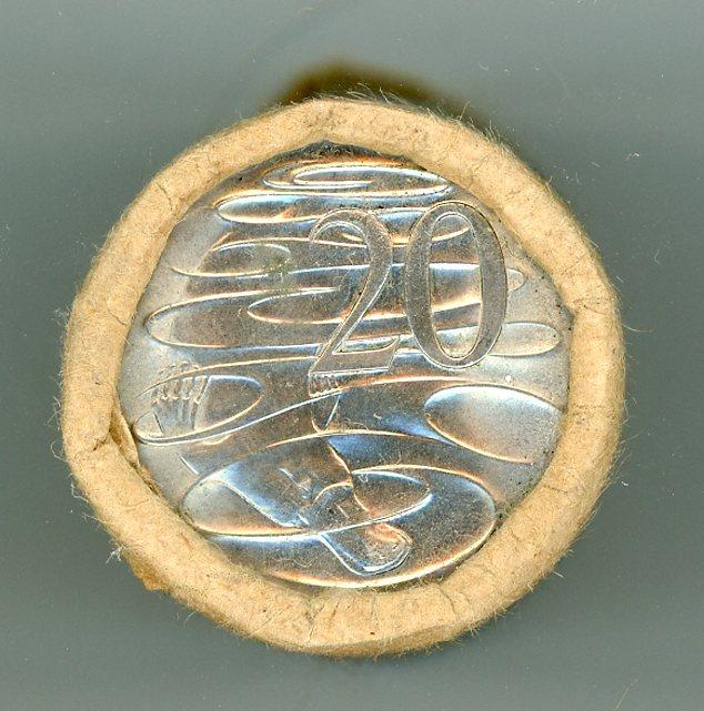 Thumbnail for 1981 Twenty Cent Royal Australian Mint Roll