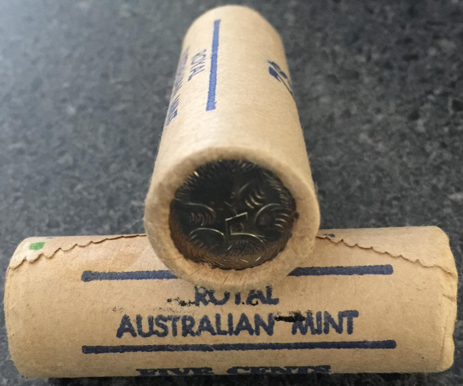 Thumbnail for 1981 Royal Australian Mint Five Cent Roll
