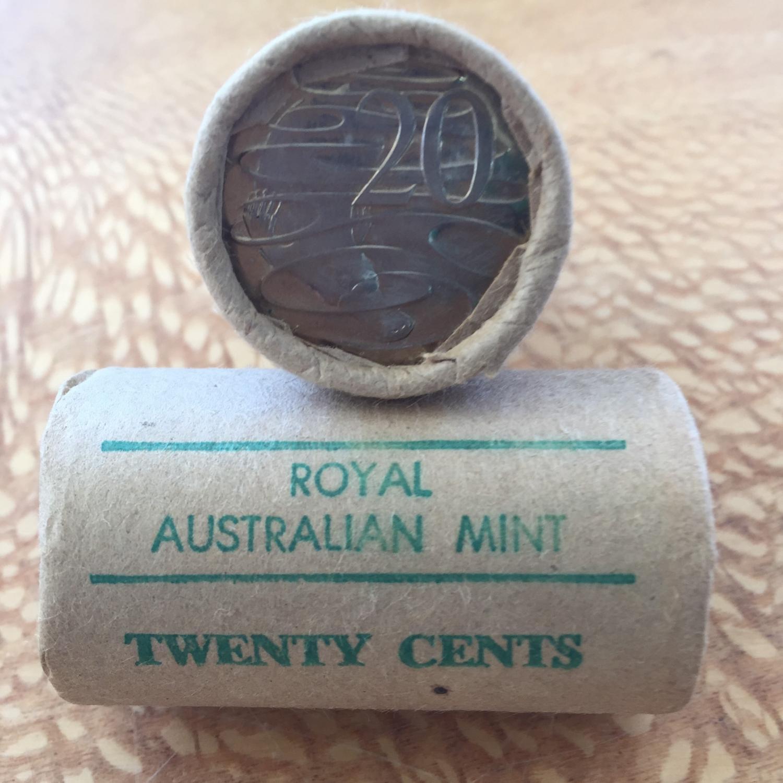 Thumbnail for 1982 Royal Australian Mint Twenty Cent Roll
