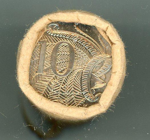 Thumbnail for 1982 Ten Cent Royal Australian Mint Coin Roll