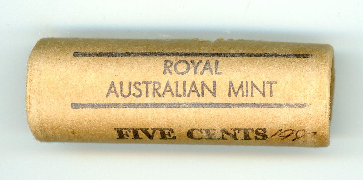 Thumbnail for 1983 Royal Australian Mint Five Cent Roll