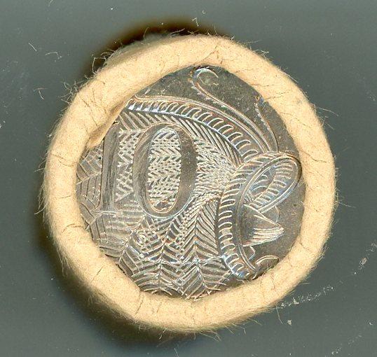 Thumbnail for 1983 Ten Cent Royal Australian Mint Roll