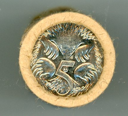 Thumbnail for 1984 Five Cent Coin Roll