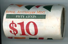 Thumbnail for 1988 50c Coin Roll Bi-Centenary First Fleet