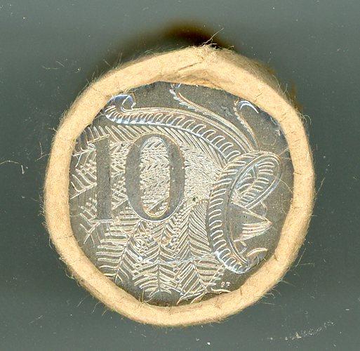 Thumbnail for 1988 Ten Cent Royal Australian Mint Coin Roll